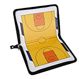 eecoo Basketball Coaching Board, Magnetic Folding Football Coach Board Set With Pen Clip, Coaching Clipboard And Zipper Bag For Coaching Team Tool