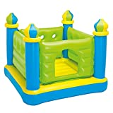 Intex Jr. Jump-O-Lene Castle Inflatable Bouncer, 52'' X 52'' X 42'', for Ages 3-6