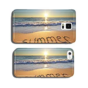 Summer word on the sea cell phone cover case iPhone6
