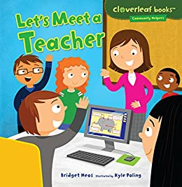 Lets Meet Teacher Cloverleaf Books ebook product image