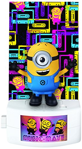 Despicable Me Music-Mate Minion Carl Toy Figure -