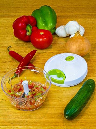 manual hand held food chopper