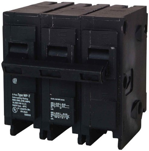 Murray MP380 120|240-Volt Plug In Style 80-Amp Three Pole Circuit Breaker by Siemens -HI