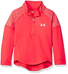 Under Armour Girls' 1/4 Zip Long Sleeve ...