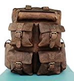 Art On Leather Genuine Leather Backpack For Women