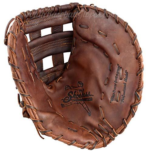 Basemans Mitt Baseball First (Shoeless Jane 12 1/2-Inch Fastpitch Softball First Base Mitt with Custom Embroidery (Right Hand Throw))