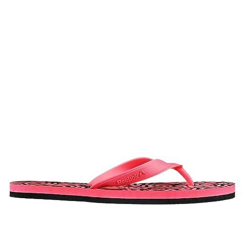 7e89a2aa9888cc Reebok - Cash Flip - AQ9615 - Color  Black-Pink - Size  7.0  Amazon ...