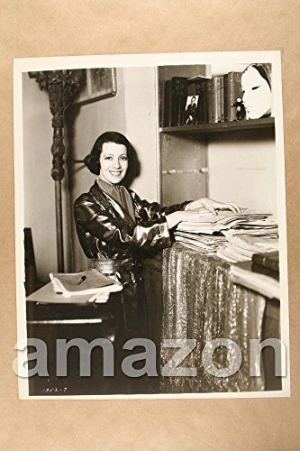 Vintage Photo of LILY PONS By Cabinet - Lily Cabinet