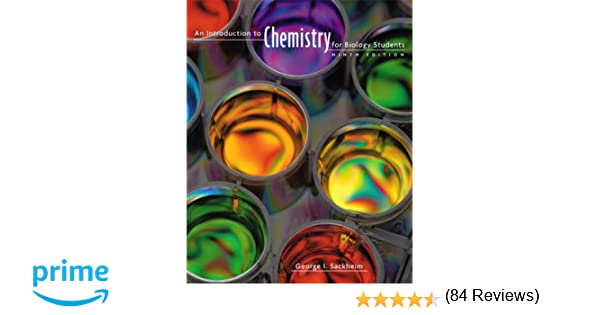 Amazon.com: An Introduction to Chemistry for Biology Students ...