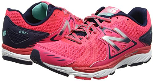 Balance Rosa Zapatillas Para 670v5 Interior Deportivas New pink Mujer qAOTfdn