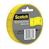 Scotch Expressions Masking Tape, 0.94 '' x 20 yd, Ruler, 6 Rolls (3437-P5)