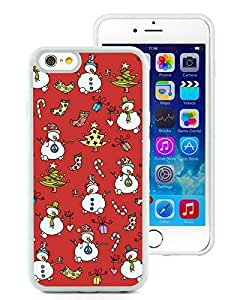 Recommend Design iPhone 6 Case,Christmas Snowman White iPhone 6 4.7 Inch TPU Case 1