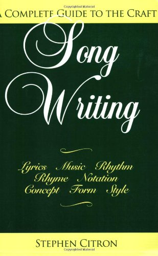 Download Songwriting: A Complete Guide to the Craft PDF