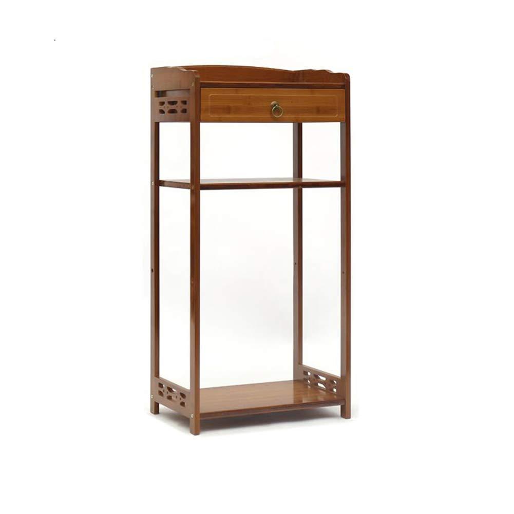 T17 XUERUI Shelves Shelf Magazine Table Bamboo Wood Solid Bedside Storage Paper Rack (Size   T9)