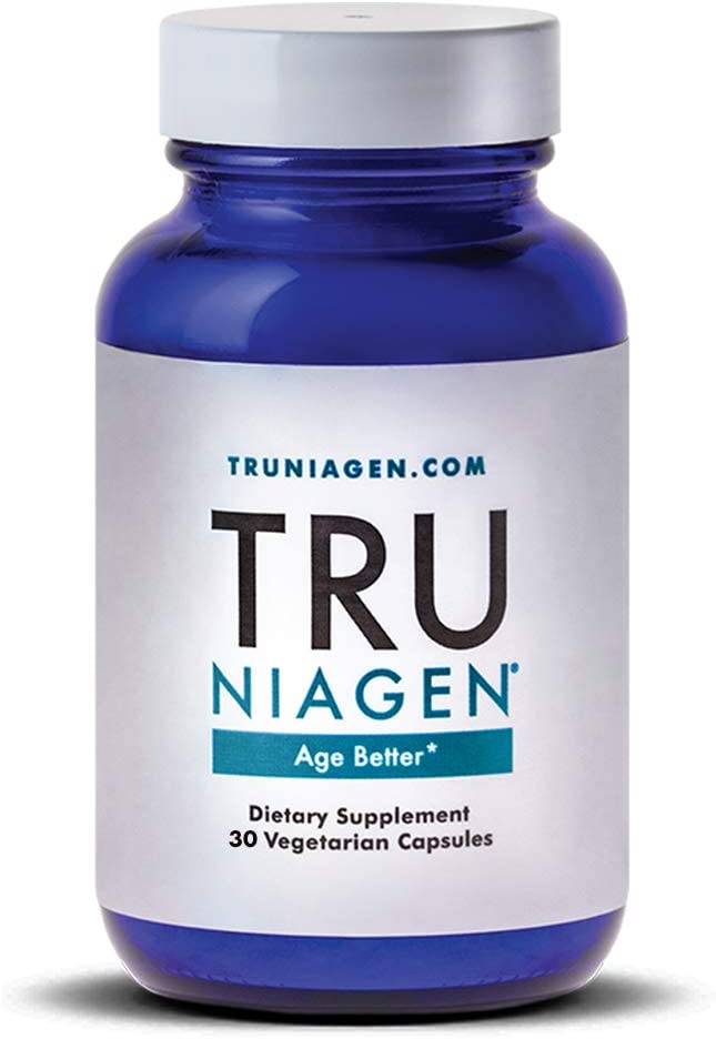 TRU NIAGEN® – Nicotinamide Riboside NR | Advanced NAD Supplement | Vitamin B3 | 125mg Vegetarian Capsules, 250mg Per Serving | Developed by ChromaDex