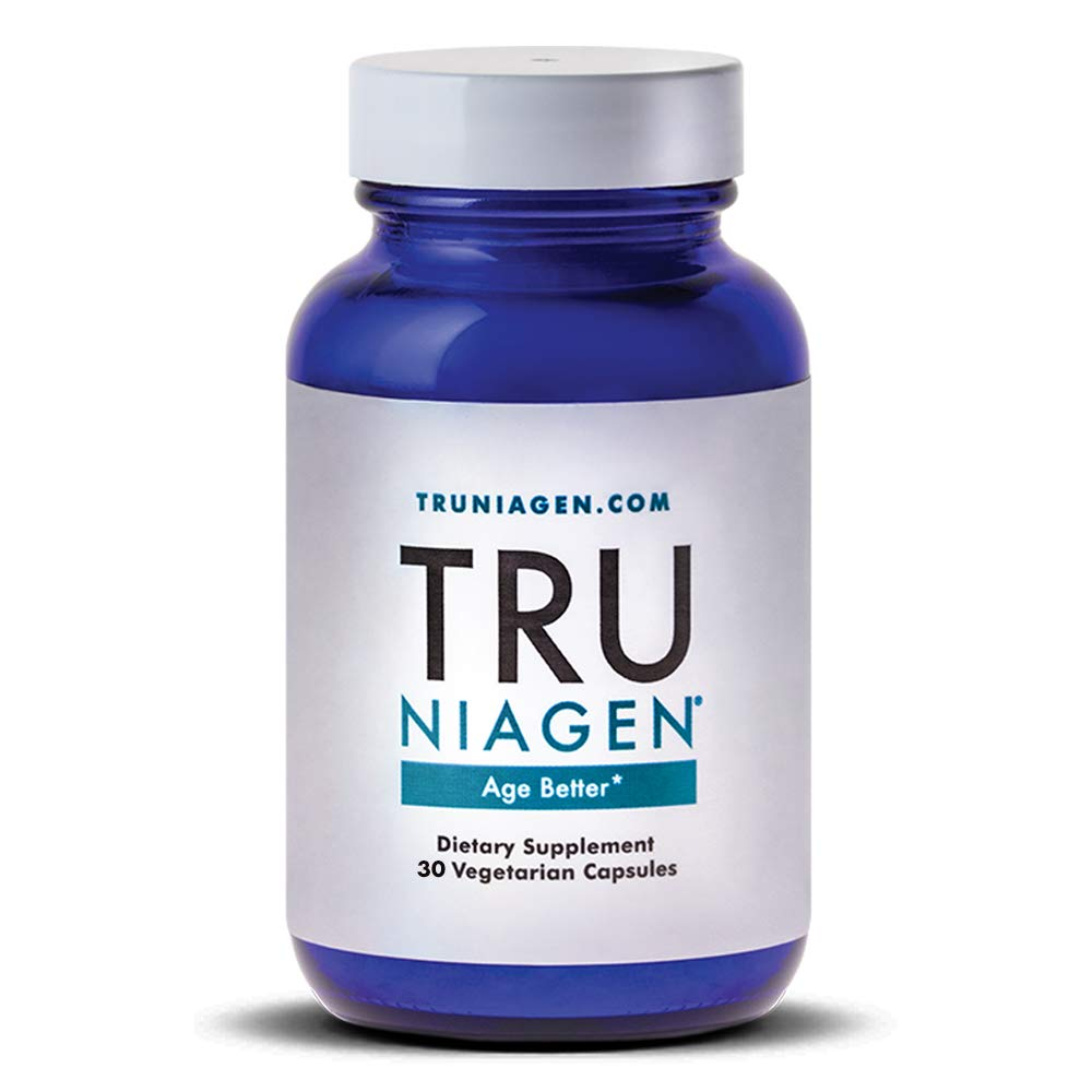 TRU NIAGEN Nicotinamide Riboside Chloride - Patented NAD Booster for Reduction of Tiredness & Fatigue, 150mg Per Vegetarian Capsule - 120 Count (60 Count (Pack of 1))