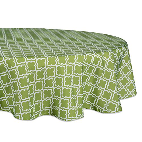 (DII 100% Polyester, Spill Proof, Machine Washable, Tablecloth for Outdoor Use, 60