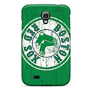 Bumper Hard Phone Cases For Samsung Galaxy S4 (sMu5816jZdq) Provide Private Custom Attractive Boston Red Sox Pictures