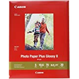 Canon 1432C003 PP-301 LTR Photo Paper Plus Glossy Letter (20 Sheets/Package)