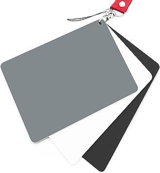 Anwenk Grey Card White Balance Card 18/% Exposure Photography Card Custom Cali...