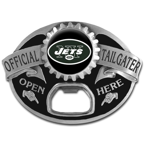 NFL New York Jets Tailgater Buckle - Fan Belt Buckle