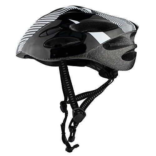 Ezyoutdoor Black Professional Bicycle Helmet Ultralight Bike Cycling Helmet Integrally-molded Road Mountain Cycling Helmet by ezyoutdoor