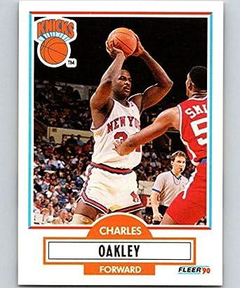 be152d53146 Amazon.com  Basketball NBA 1990-91 Fleer  128 Charles Oakley  128 ...