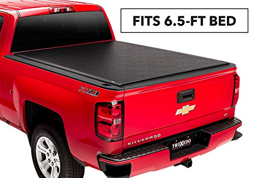 TruXedo Lo Pro Soft Roll-up Truck Bed Tonneau Cover | 571101 | fits 2014 GMC Sierra & Chevrolet Silverado 2500/3500 (HD) 6'6