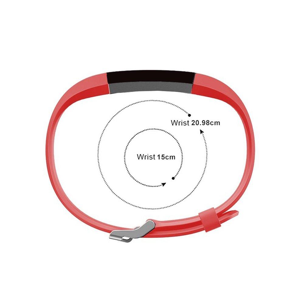 Arbily YG3PLUS Band Fitness Tracker Band, Correa Ajustable del Monitor del Ritmo cardíaco del reemplazo para Las muñequeras Elegantes del rastreador ...