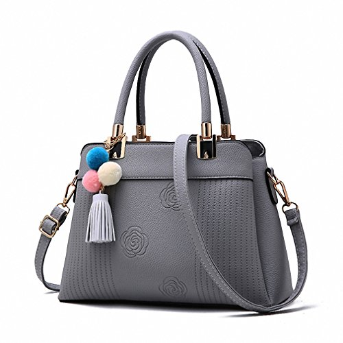Women Bag Leather Quality Handbag Casual Tote Lady Shoulder Bags Female Tassel Messenger Bags Original Design Sac 5