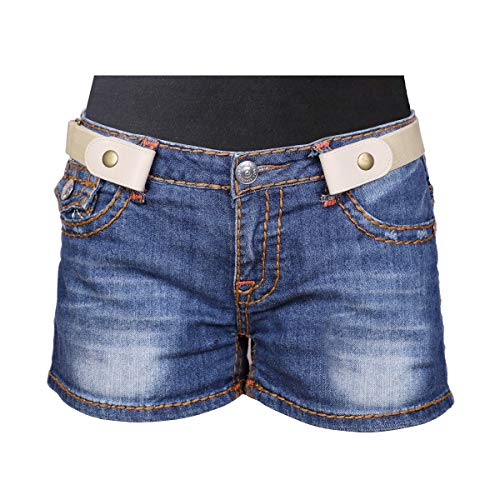 Modest Bread - No Buckle Stretch Belt For Women/Men Elastic Waist Belt Up to 68 Inch for Jeans Pants