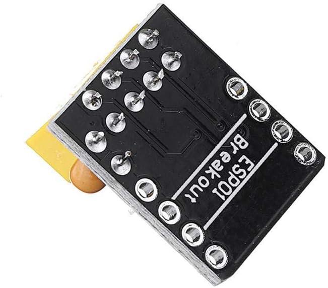 Yadianna ESP01//01S Adapter Board Bread Board Adapter For ESP01 ESP8266 ESP01S Development Board Spot Steuermodul