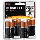 DURMN1400R4ZX - Duracell MN1400R4Z C Size Alkaline General Purpose Battery, 4 Count