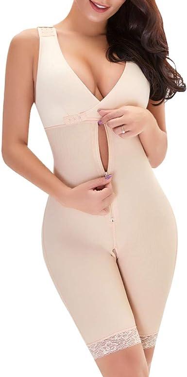 Eaylis Damen Shapewear Figurformender Formende Bodys Taillenformer angenehm Shaping Bodysuit mit Haken Figurformender Bauch Weg Formende Bodys Taillenformer