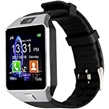 Padcod DZ09 Bluetooth Smartwatch with Camera Support Micro-SIM Phone Calling, Bluetooth Calling,Pedometer, Sedentary reminder and Sleep Monitor for Android Phones and iPhone Series