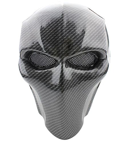 Lce Gods Flat Black Airsoft Mask Army Of Two Protective Gear Outdoor Sport Fancy Party Ghost Masks Bb Gun -