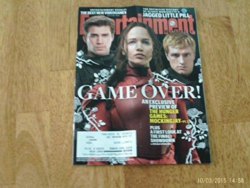 Josh Cellars (Entertainment Weekly, October 9, 2015 Mockingjay Part 2-Hunger Games finale-Exclusive Preview. Liam Hemsworth, Jennifer Lawrence & Josh Hutcherson on cover.)