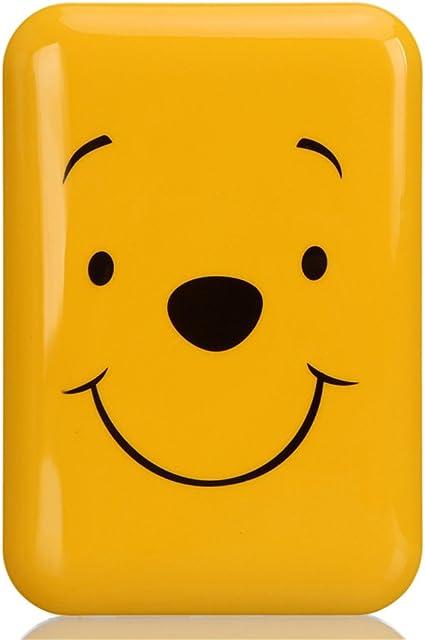 : Power Bank Dual USB Port Cartoon Disney 7800 mah