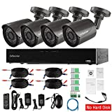 Cheap Evtevision 4CH FULL1080P 5N1 DVR Kit,4 Channel 2MP AHD/TVI/CVI/Analog HVR+ 4Pack 2MP AHD/TVI/CVI/Analog/IP Bullet Cameras, Home Video Security CCTV System,Supports coaxial control (No HDD)