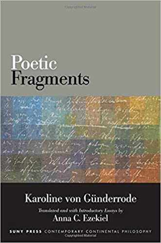 Book Poetic Fragments (SUNY Series in Contemporary Continental Philosophy)