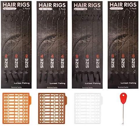 5 pcs Clear Hair Rig Fishing Boilie Stops Bait Rig Stops Carp Acc D1J9