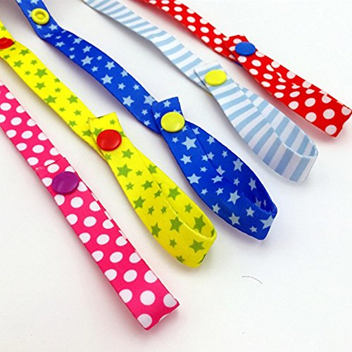 NERLMIAY 5 pcs Baby Kids Bottle Toys Strap Belt Holders for Highchair,Car & Stroller