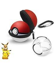 Étui de Transport pour Pokeball Plus , Etui de protection pour pokeball switch , Coque de Protection Transport de Protection Rigide Portable Travel Poke Ball,Housse de Transport pour Nintendo Switch