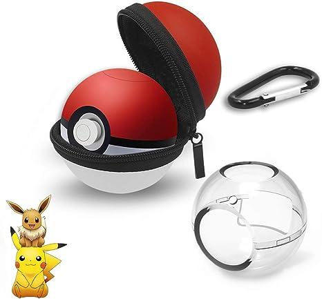 Estuche portátil Pokeball Plus - Estuche protector para Nintendo Switch Pokeball Plus Controlador-Estuche Pokemon Ball Accesorios Pokeball: Amazon.es: Videojuegos