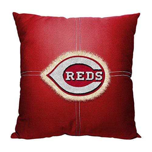 Officially Licensed MLB Cincinnati Reds Letterman Pillow, 18
