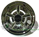 golf cart custom wheels - GOLF CART SS HUB CAPS FITS YAMAHA CLUB CAR EZ-GO PAR CAR HUBCAPS 8