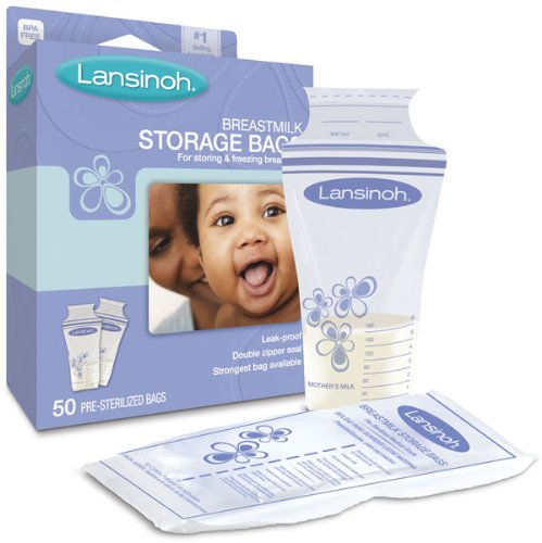 LAN20450 - Breastmilk Storage Bags (50 Count) Lansinoh