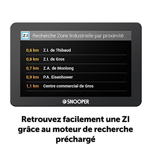16:9 Snooper PL 2400 GPS El/éments D/édi/és /à la Navigation Embarqu/ée Europe Fixe