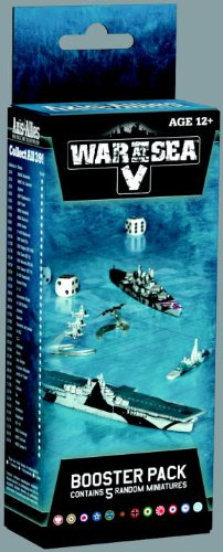 War at Sea V: Fleet Command: An Axis & Allies Naval Miniatures Booster Expansion (Axis & Allies Miniatures)