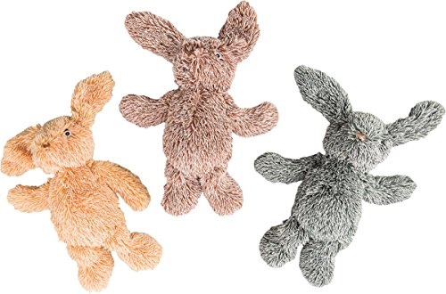 orted Cuddle Bunnies Plush Dog Toy (Super Pet Bunny)